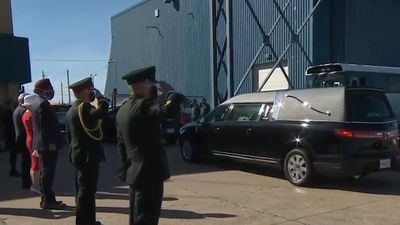Ramp ceremony held in Halifax for Snowbirds crash victim