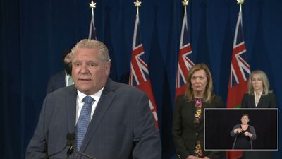 People at Toronto park Saturday should get COVID test: Ford