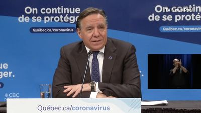 Legault happy that Quebec hitting testing goals