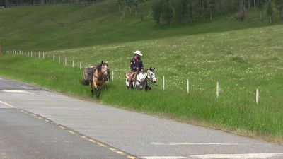 Brazilian cowboy who criss-crossed dozens of countries nearing journey's end