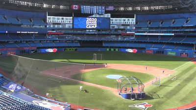 Blue Jays hold summer training camp at Rogers Centre