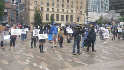 Rally held for B.C. nursing student, calls for end to police violence