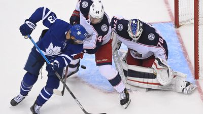 The Toronto Maple Leafs joined a pair of other Canadian teams with playoff exit