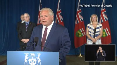 Deficit spending necessary to fight pandemic: Ford