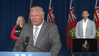 Ford disappointed strip club allegedly contravened public health rules