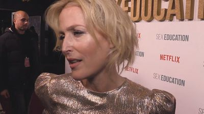 Gillian Anderson reflects on her past career and new beginnings