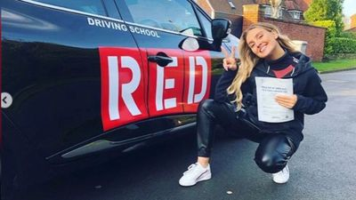 Perrie Edwards passes driving test