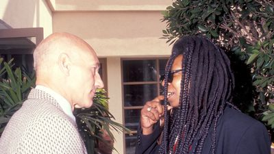 Patrick Stewart invites Whoopi Goldberg to join Star Trek: Picard