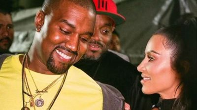 Kim Kardashian sued for 'stealing' snap of herself and husband Kanye West