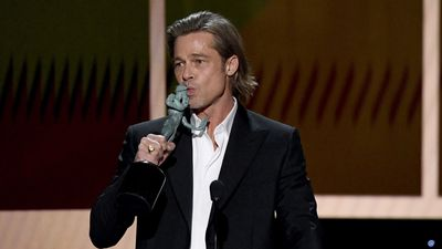 Brad Pitt is not really on dating app Tinder