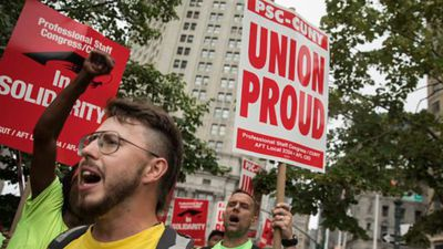 US Labor Union Membership Has Plummeted to a New Low
