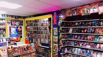 A Nostalgic Movie Fan Has Transformed His Basement Into A 90s Video Rental Store