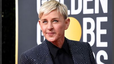 Ellen DeGeneres breaks down paying tribute to Kobe Bryant