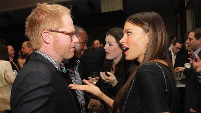 Sofia Vergara and Jesse Tyler Ferguson struggle during final Modern Family table read