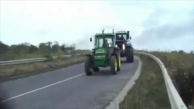 Fastest tractor ever!