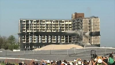 Massive Building demolition