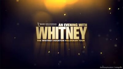 Whitney Houston hologram tour draws negative reviews on opening night