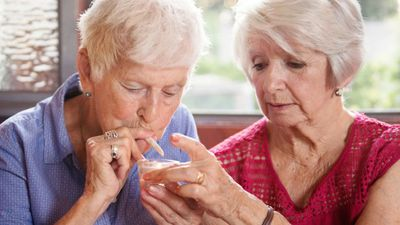 More US Seniors Are Smoking Marijuana, Study Says
