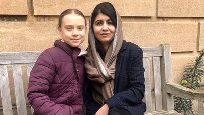 Greta Thunberg Finally Met Her 'Role Model,' Malala Yousafzai