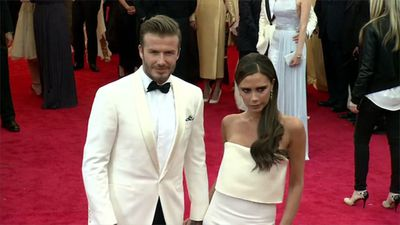 David Beckham treasures train ticket Victoria wrote her number on when they first met
