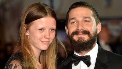 Shia LaBeouf and ex Mia Goth reunite