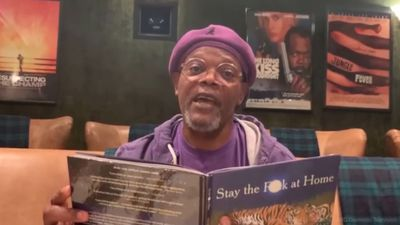 Samuel L. Jackson urges the public to stay home in explicit poem