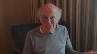 Larry David tells 'idiots' still going out to stay at home