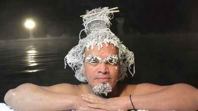 Super-Cool: The 2020 Hair-Freezing Competition