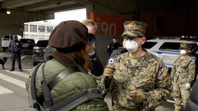Pentagon Orders Troops to Wear Masks