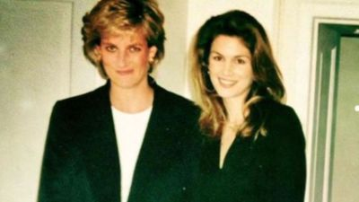 Cindy Crawford was 'so intimidated' when she first met Princess Diana
