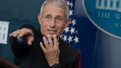Dr. Fauci Says US COVID-19 Death Toll May Be 'More Like 60,000'