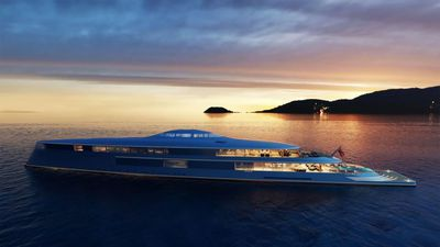 Superyacht powered by liquid hydrogen launched