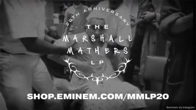 Eminem invites fans to join album anniversary listening party online