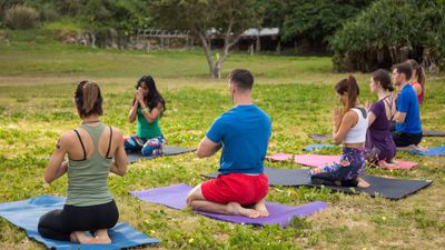 Regular yoga sessions may help to ease symptoms of depression