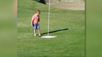 Golf is difficult!