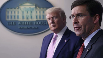 Pentagon Chief Doesn't Support Using Active Military on US Streets