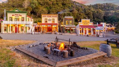 Entire Wild West Town For Sale – In Rural New Zealand