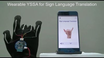 Glove Translates Sign Language Into Speech In Real Time