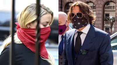 Johnny Depp and ex-wife Amber Heard arrive at London's High Court for legal showdown