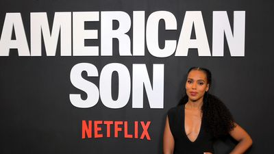 Kerry Washington displayed photos of black men k*lled by police backstage during American Son play