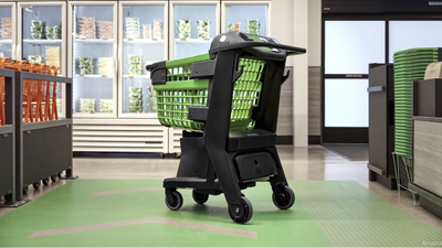 Amazon Unveils Smart Shopping Cart