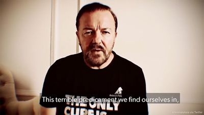 Ricky Gervais & Dame Judi Dench demanding end to animal cruelty in new viral video