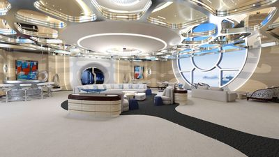 Futuristic Yacht Concept Has An Interior Straight Out Of A Sci-Fi Movie
