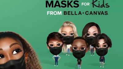 Serena Williams donating four million masks to students across the U.S.