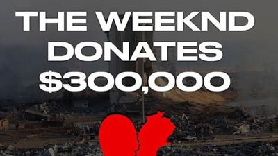 The Weeknd digs deep to help relief effort after Beirut blast