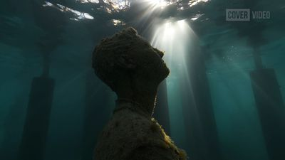 The World's First Semi-Submerged Tidal Art Gallery Opens In The Maldives