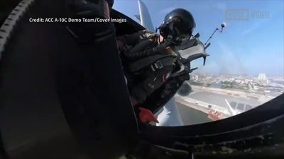 Jaw-Dropping Footage Of America's Tank-Buster Aircraft