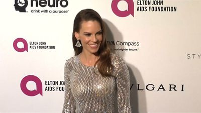 Newlywed Hilary Swank recruited a top tap choreographer for her first dance