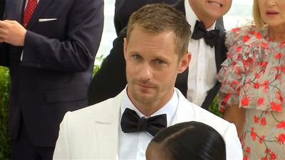 Alexander Skarsgard had 'one in, one out' purchase policy while he was living out of a suitcase