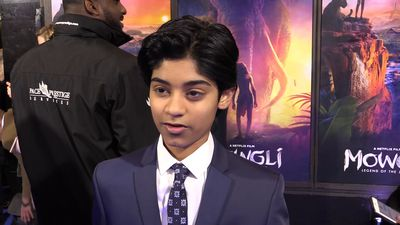 Rohan Chand on working with Andy Serkis in 'Mowgli: Legend of the Jungle'